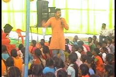 Teaching Children as part of Sabarmati Sangeeth