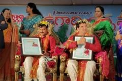 Ugadi-Puraskaram-Felicitations-at-University-of-Silicon-Andhra