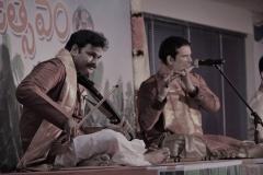 Violin-Vasu-and-Flute-Phani-at-Universit-of-SiliconAndhra
